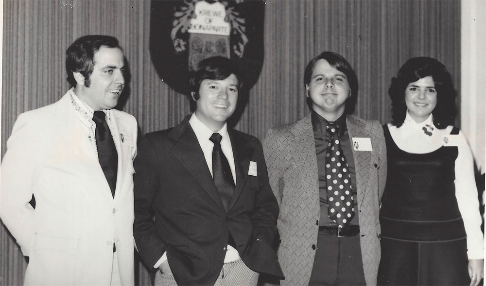 Bonaparte 1972 - First Officers Elected