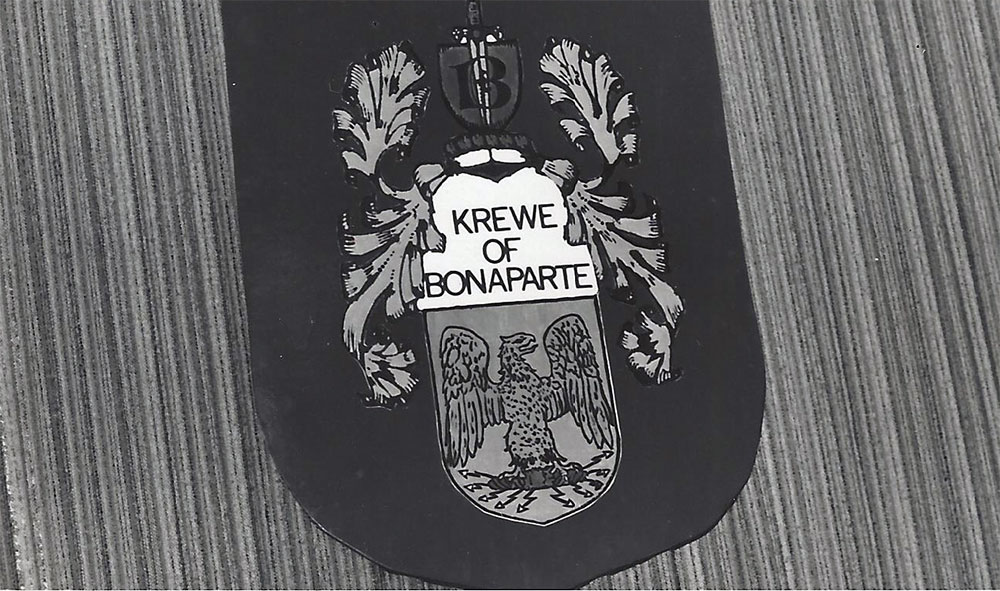 Bonaparte 1972 - It's official, Krewe of Bonaparte Incorporated.